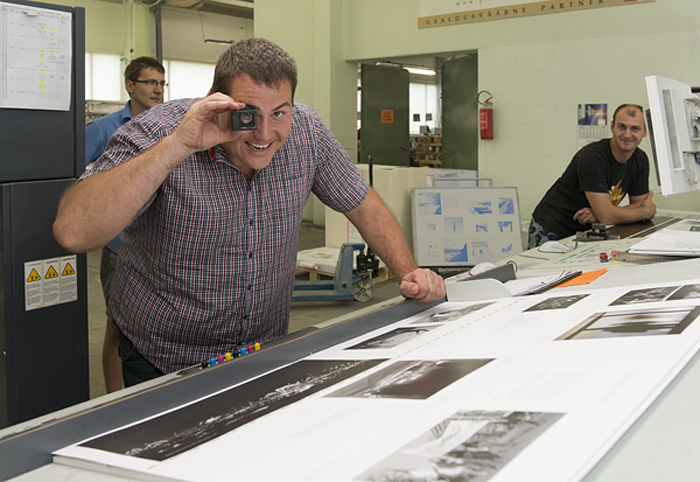 Janno Joosep, print director hos Print Prest. (Foto: Morten M. Løberg)
