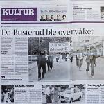 "Hamar Arbeiderblad omtaler ""Det var slik det var..."""