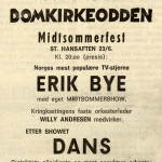 St. Hans-show på Domkirkeodden for 45 år siden